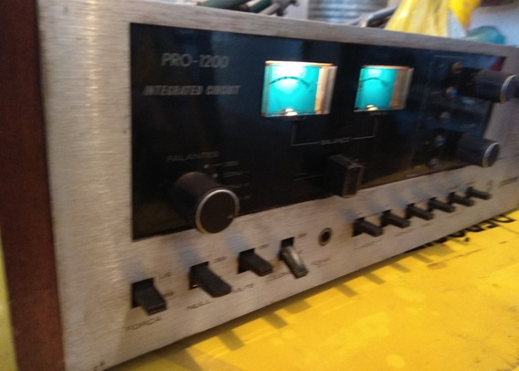 Amplificador Gradiente Pro 1200/akai/cce/pionner/sansui/mara