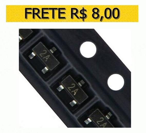 Transistor - 2a Mmbt3906 - 2n3906 Sot-23 - Lote 10 Unidades