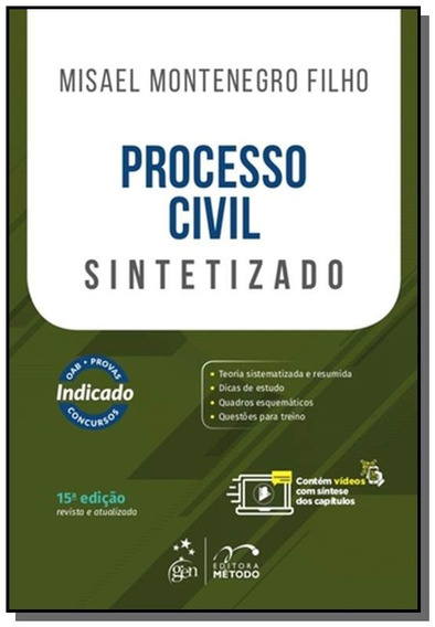 Processo Civil Sintetizado 15/18