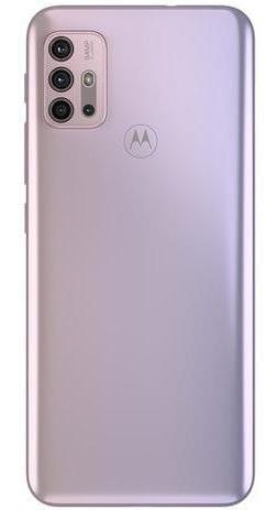 Imagem 1 de 5 de Smartphone Motorola Moto G30 128gb White Lilac 4g - 4gb Ram
