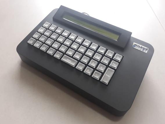 Kit Micro Terminal Wilbor Tech 44teclas + Chave Comutadora