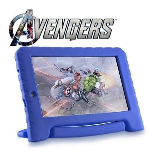 Tablet Infantil Dos Vingadores Kid Pad Android 8.1 Bluetooth
