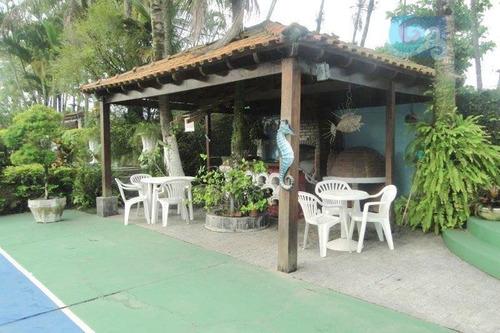 Imagem 1 de 30 de Casa À Venda, Praia Do Pernambuco, Guarujá. - Ca1595
