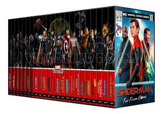 Colección Marvel Studios Mcu Dvd Avengers Hulk 23 Peliculas