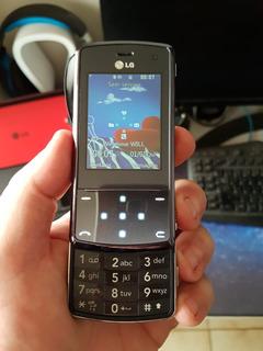 Celular Lg Kf-510 Raridade Zerado!