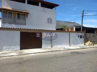 Casa Com 02 Dormitórios Para Locação Fixa, 88,00 M² Por R$ 1.300/mês - Bairro Jardim Caiçara - Cabo Frio/rj - Ca0972