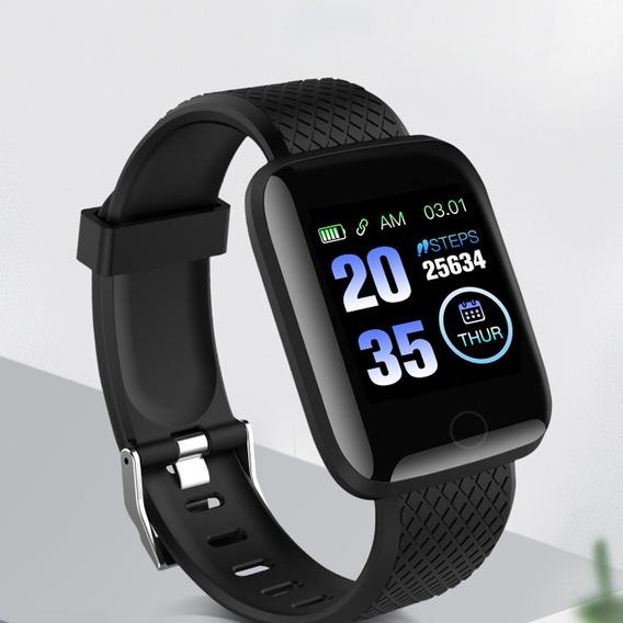 Relógio Inteligente Smartband Bluetooth Monitor Taxa Coração