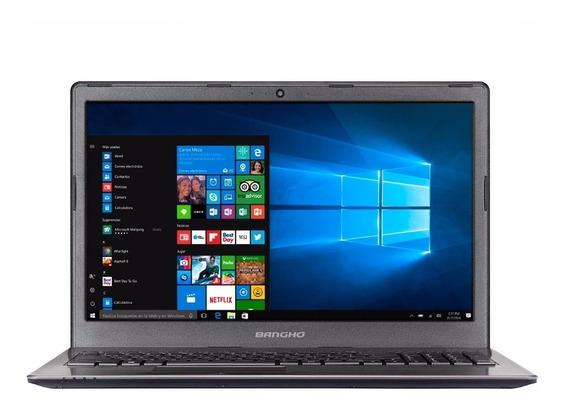 Notebook Banghó Max Intel I5 8250u 8gb Ssd240 15.6¨ Win10