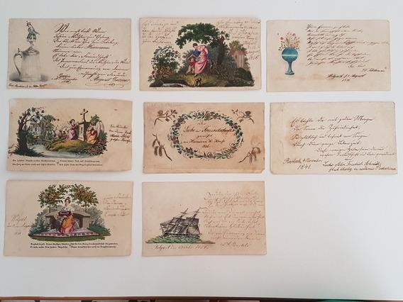 Cartões Antigos Alemanha 1840 - 1850