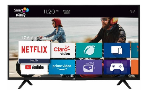 Imagen 1 de 3 de Televisor Kalley 32 Pulgadas Led Hd Plano Smart Tv