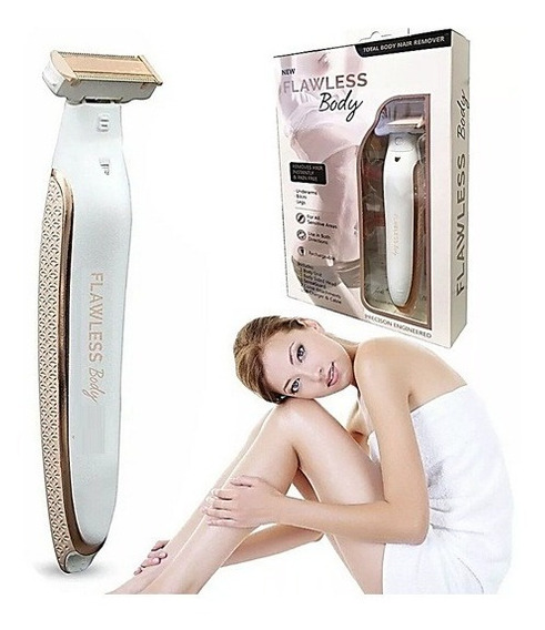 Afeitadora Electrica Inalambrica Flawless Body Recargable