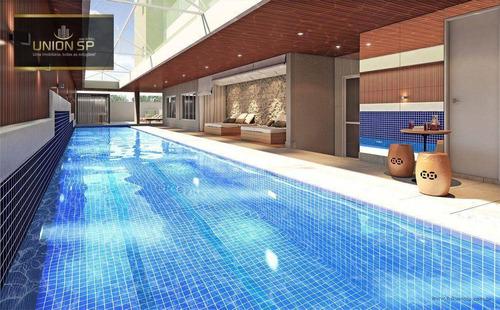 Apartamento Com 1 Dormitório À Venda, 45 M² Por R$ 770.407,00 - Moema - São Paulo/sp - Ap45125