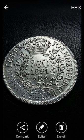 Moeda 960 Reis 1821 R. Veja Descricao