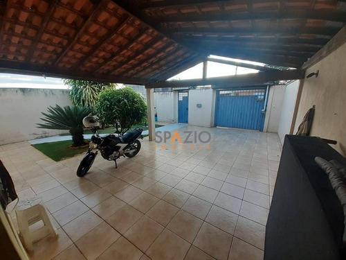 Imagem 1 de 9 de Casa Com 2 Dormitórios À Venda, 99 M² Por R$ 340.000,00 - Parque Dos Jequitibas - Santa Gertrudes/sp - Ca0536