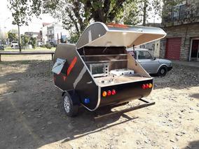 Mini Rodante Para 2 Personas Con Cocina. Dako Trailers.