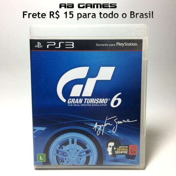 Gran Turismo 6 Nacional Playstation 3 Ps3