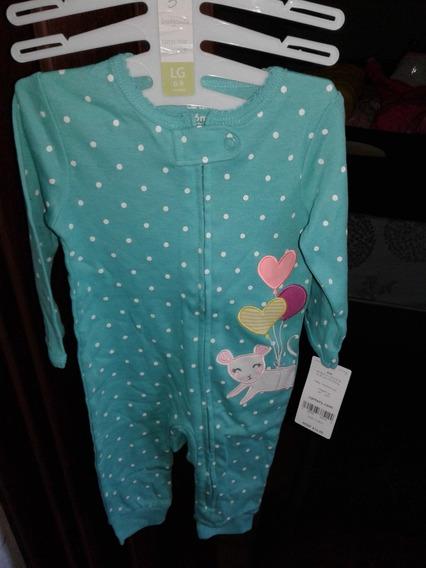 Pijama Para Bebe Marca Carters De 6 A 9 Meses