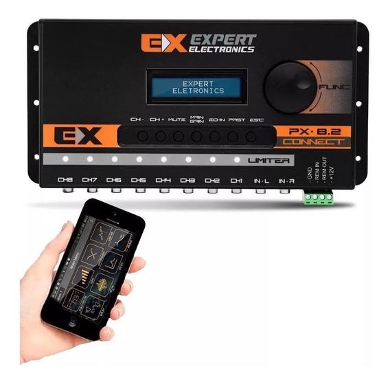 Processador De Audio Crossover Equalizador Px8.2 Expert