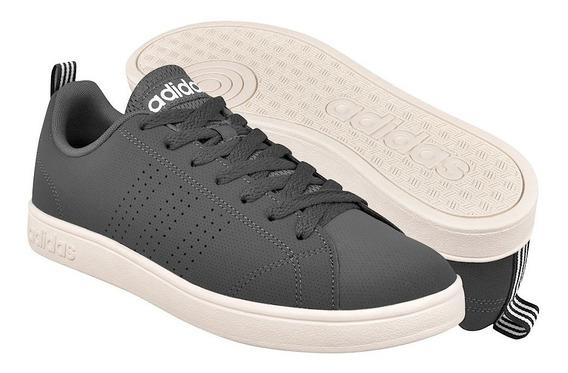 Tenis adidas Hombre Gris Oscuro Vs Advantage Cl F36472