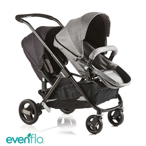 Cochecitos Evenflo Sync 2 Doble Mellizos Hermanos Promo