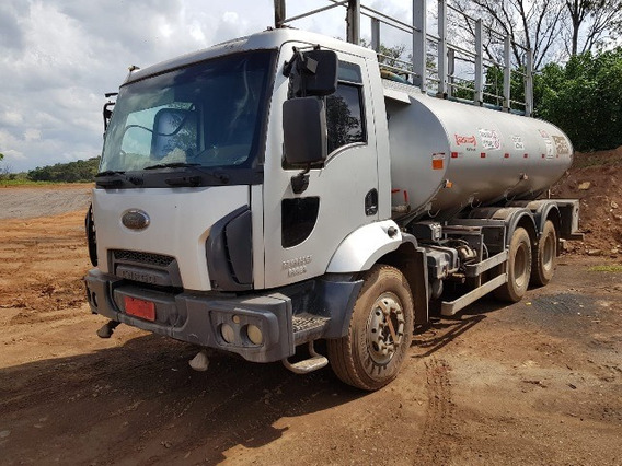 Ford Cargo 2629 6x4 Ano 2012/2013 Tanque Pipa Gascom 20.000l