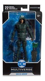 Green Arrow Figura Dc Comic Articulada 17 Cm Con Base Edu