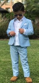 Blazer E Calça Pajens +colete +camisa E Gravata 1 A 10 Anos