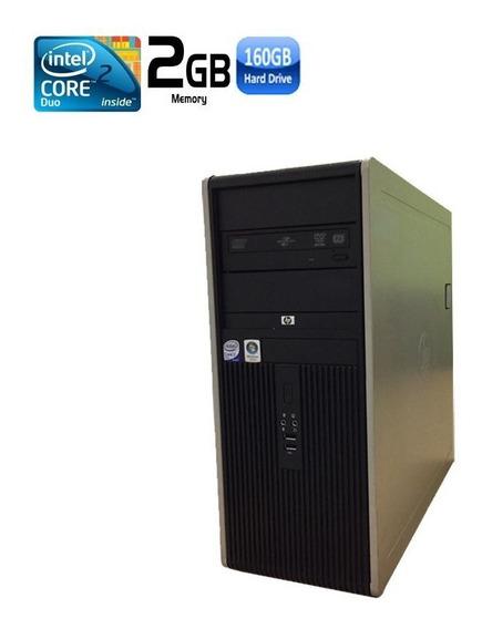 Pc Hp Compaq Dc 7800 Core 2 Duo 2gb Hd 160gb Black Friday