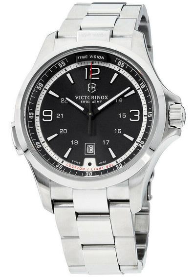Relógio Masculino Victorinox 241569 Aço Inoxidável