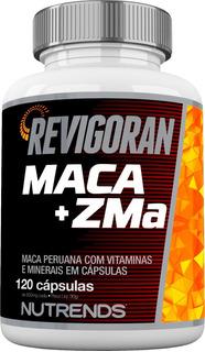 Maca Peruana + Zma 120 Cápsulas Revigoran Nutrends