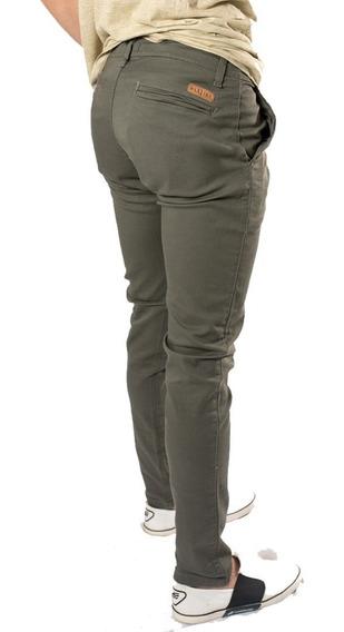 Pantalon Corte Chino Hombre X1 U, Hombre, Gab Elastizada