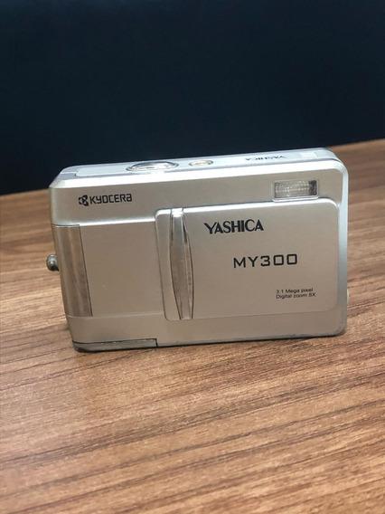 Câmera Yashica My300 3.1 Mp - Retirada De Peças