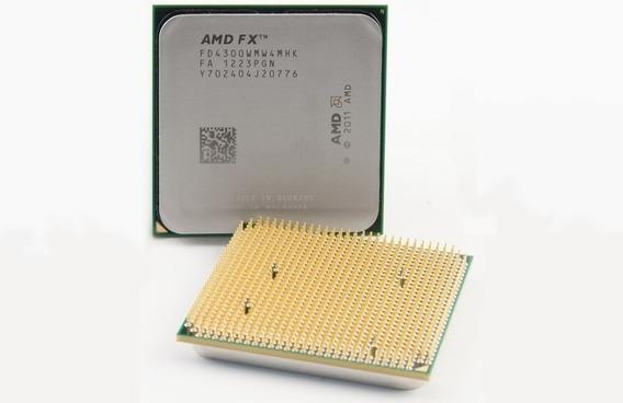 Processador Quad Core Am3+ Fx 4300 Black Edition