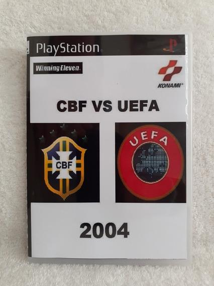 Cbf Vs Uefa 2004 Para Playstation 1 - Patch