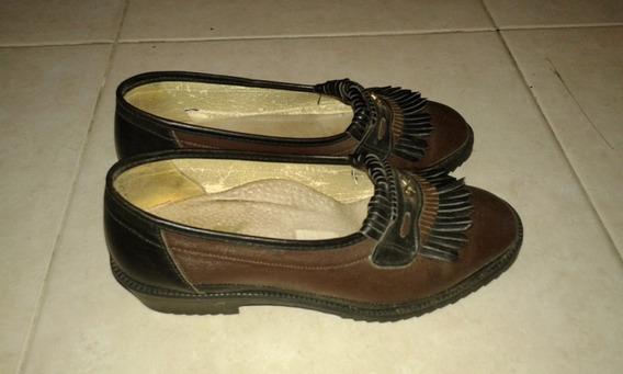 Zapatos De Calidad, Italianos Impecables Talle 37
