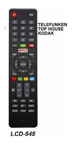 Control Remoto Smart Tv Led Para Kodak Telefunken Top House
