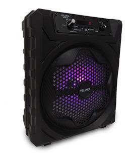 Bafles Bocina Amplificados 8 Pulgadas Bluetooth Velikka 1008