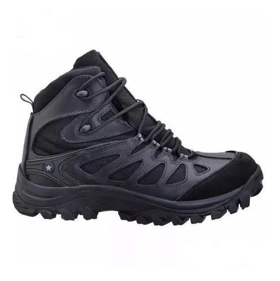 Bota Airstep Bravo 10 Couro Hiking Boot Militar/air Soft