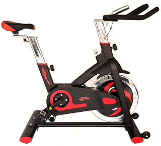 Bicicleta Spinning Profesional World Fitness 3358 Double Way