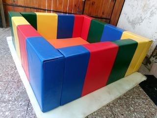 Piscina De Pelotas De 150x150 X 50 Con Base Incluida En D.24