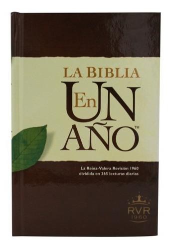 Imagen 1 de 5 de La Biblia En Un Año Rvr60 Tapa Dura