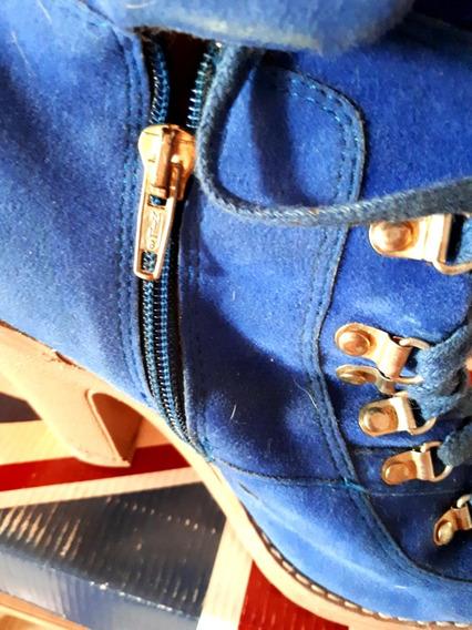 Botas Azules Luna Chiara 38!
