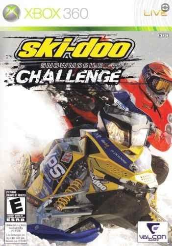 Ski-doo Snowmobile Challenge Snow Cross Xbox 360 Original