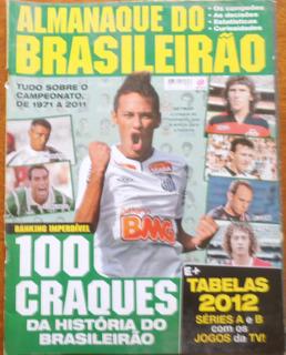 Almanaque Brasileirão Nº 1 Com Tabelas Das Séries A/b 2012