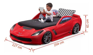 Juguetes Step 2 Corvette Toddler To Twin Bed