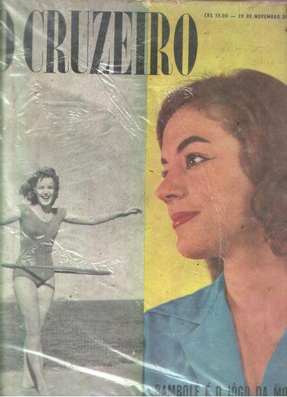 O Cruzeiro 1958.rainha Primavera.liz Taylor. Matei Uma Santa