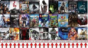 Ps3 Jogos Pacote Combo 27 Jogos Mídia Digital