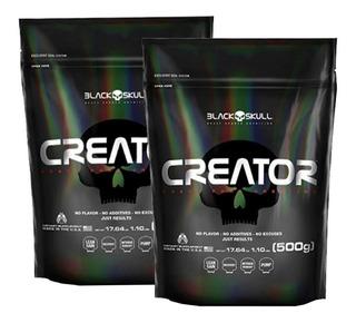 Creatina Creator 1000g - Original Black Skull