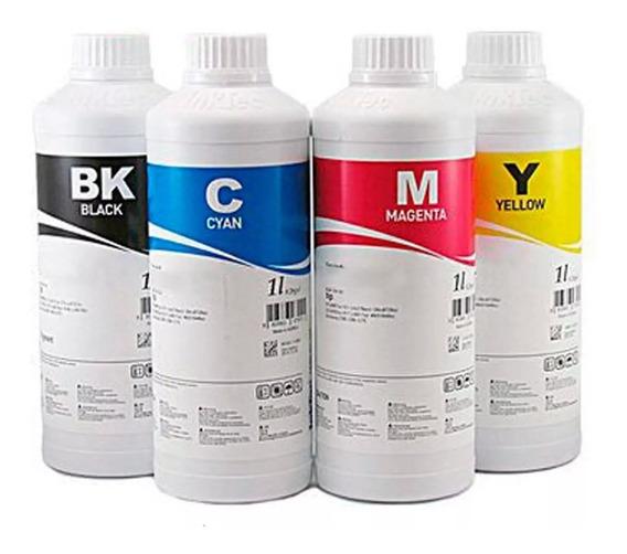 Tinta Corante Inktec Hp Canon Lexmark Recarga - Kit 4x 250ml