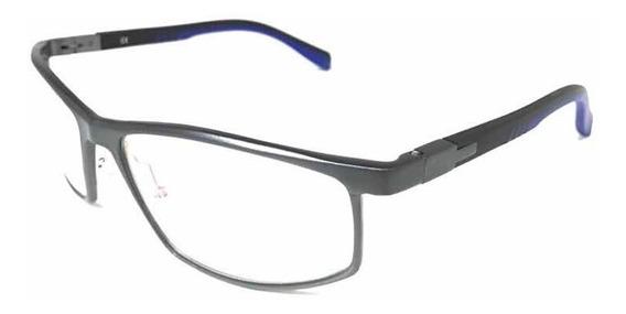 Óculos Armações Aluminio Esportivo Lançamento Cinza Trend-20